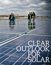 Clear Outlook For Solar